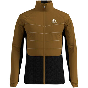 Odlo Millenium S-Thermic Jacke Herren golden brown/black